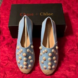 Chase and Chloe Pearl Slip On shoes